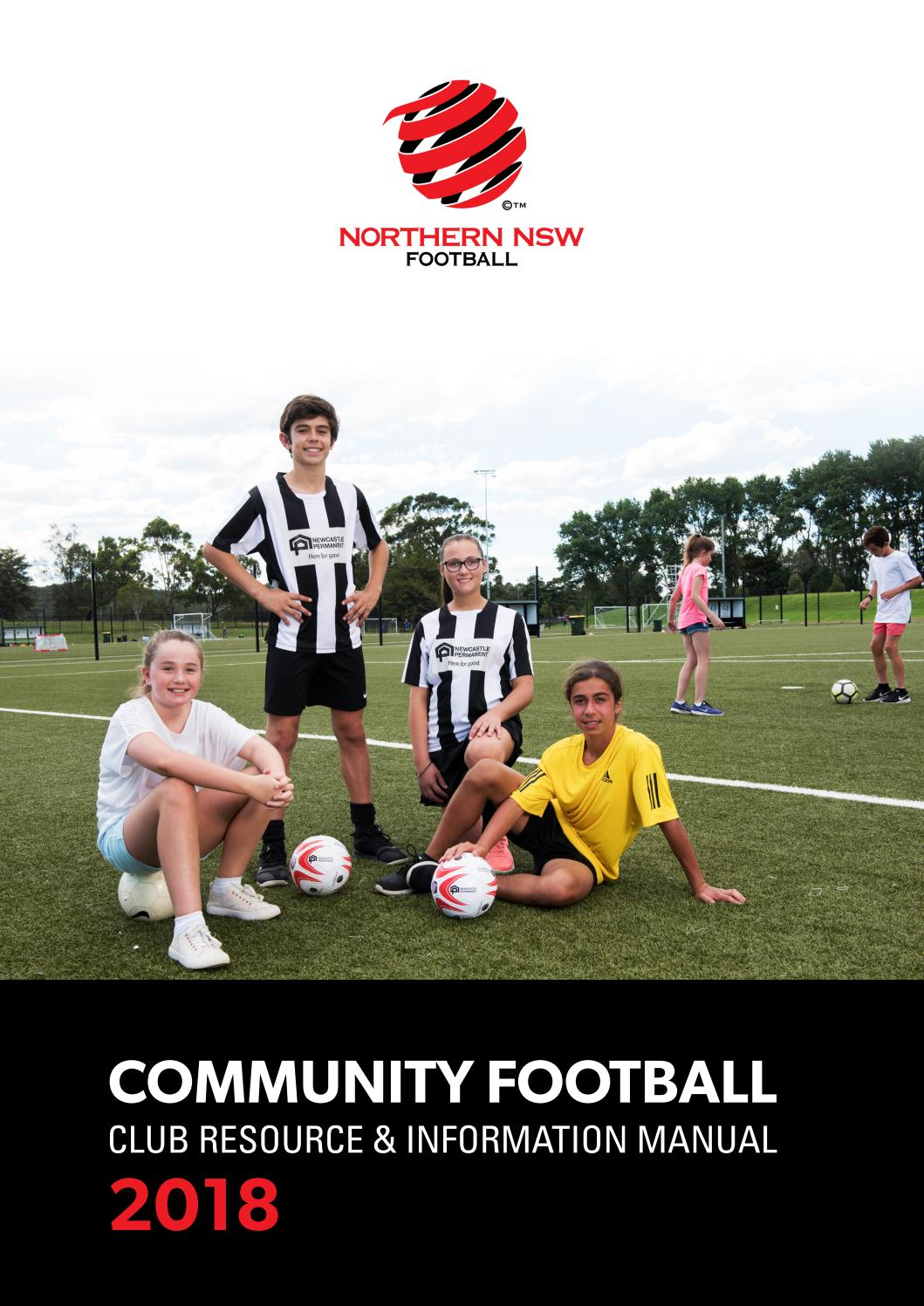 75409d1fd33 NNSWF Community Football Club Resource and Information Manual 2018 by  Northern NSW Football - issuu