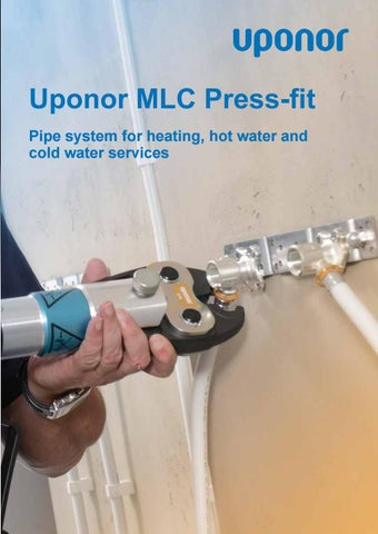 Mlc plumbing tech guide by Uponor UK - issuu on