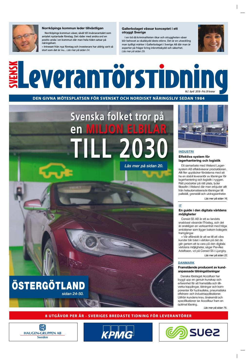 Svensk Leverantörstidning nr-2 2018 by Hexanova Media Group AB - issuu b957c81ee9a97