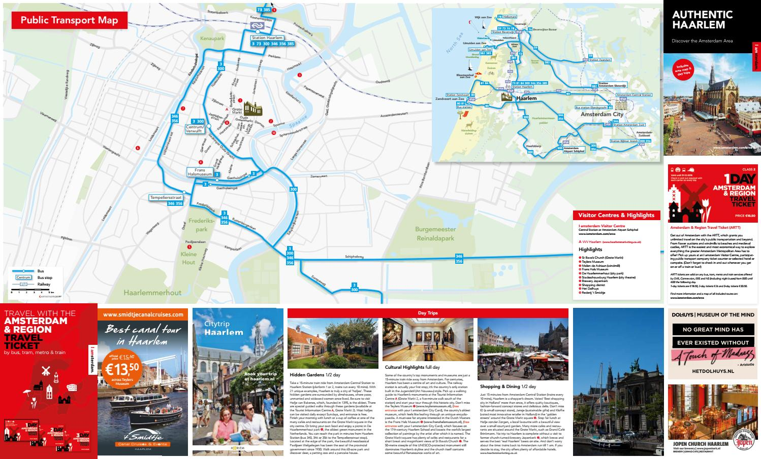 Haarlem map 2018 by Amsterdam Marketing - issuu