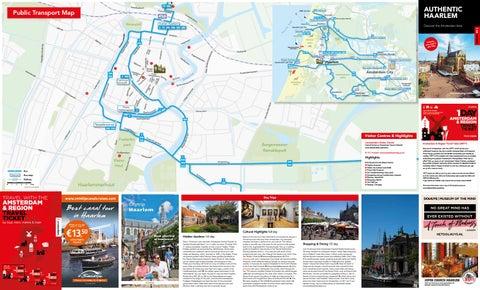 Haarlem map 2018 by Amsterdam Marketing issuu
