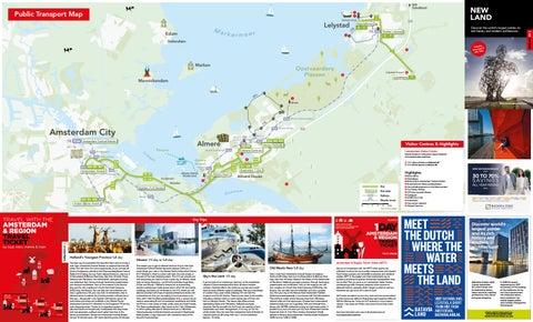 New Land map 2018 by Amsterdam Marketing issuu