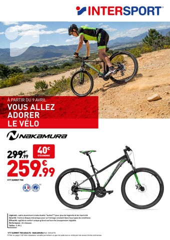 89d76306900 INTERSPORT MONS – CYCLE (20 pages) by INTERSPORT France - issuu