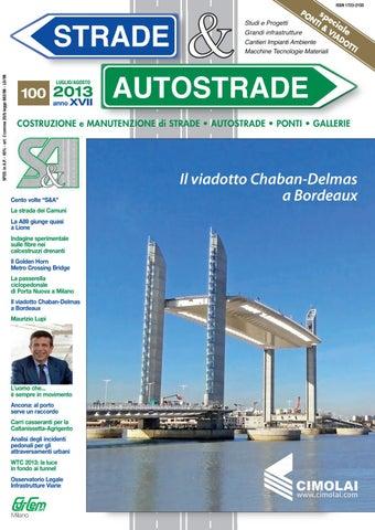 S A 100 Luglio-Agosto 2013 by Strade Autostrade - EDI-CEM Srl - issuu aa60cb05182