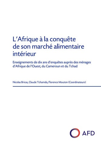 100% authentic 8c3c7 025e1 Le présent document est le résultat de l étude sur les marchés alimentaires  intérieurs en Afrique de l Ouest, au Cameroun et au Tchad.