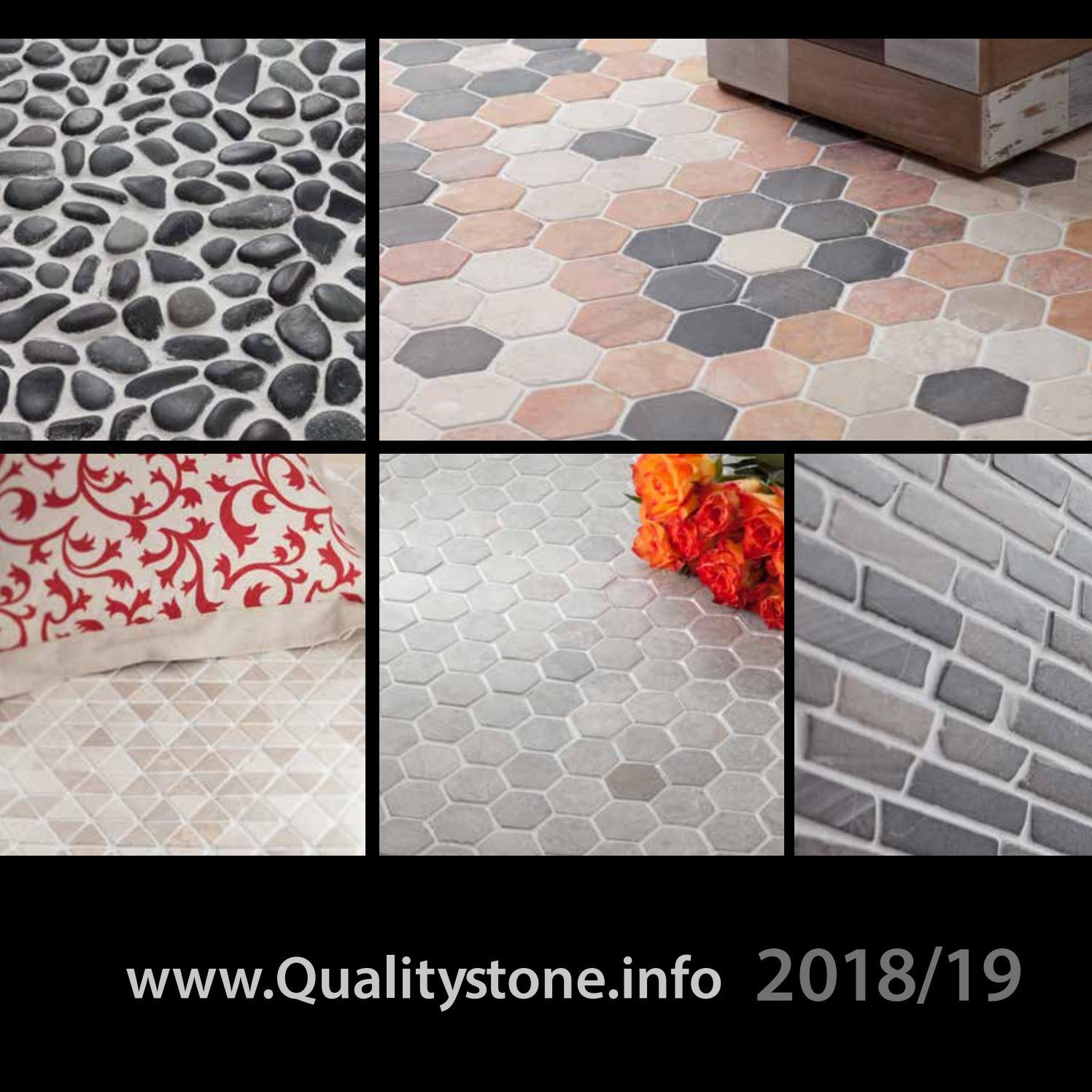 "/""ONYX/"" Natural Stone 12/"" Pebble Tiles Box of 11 $88"