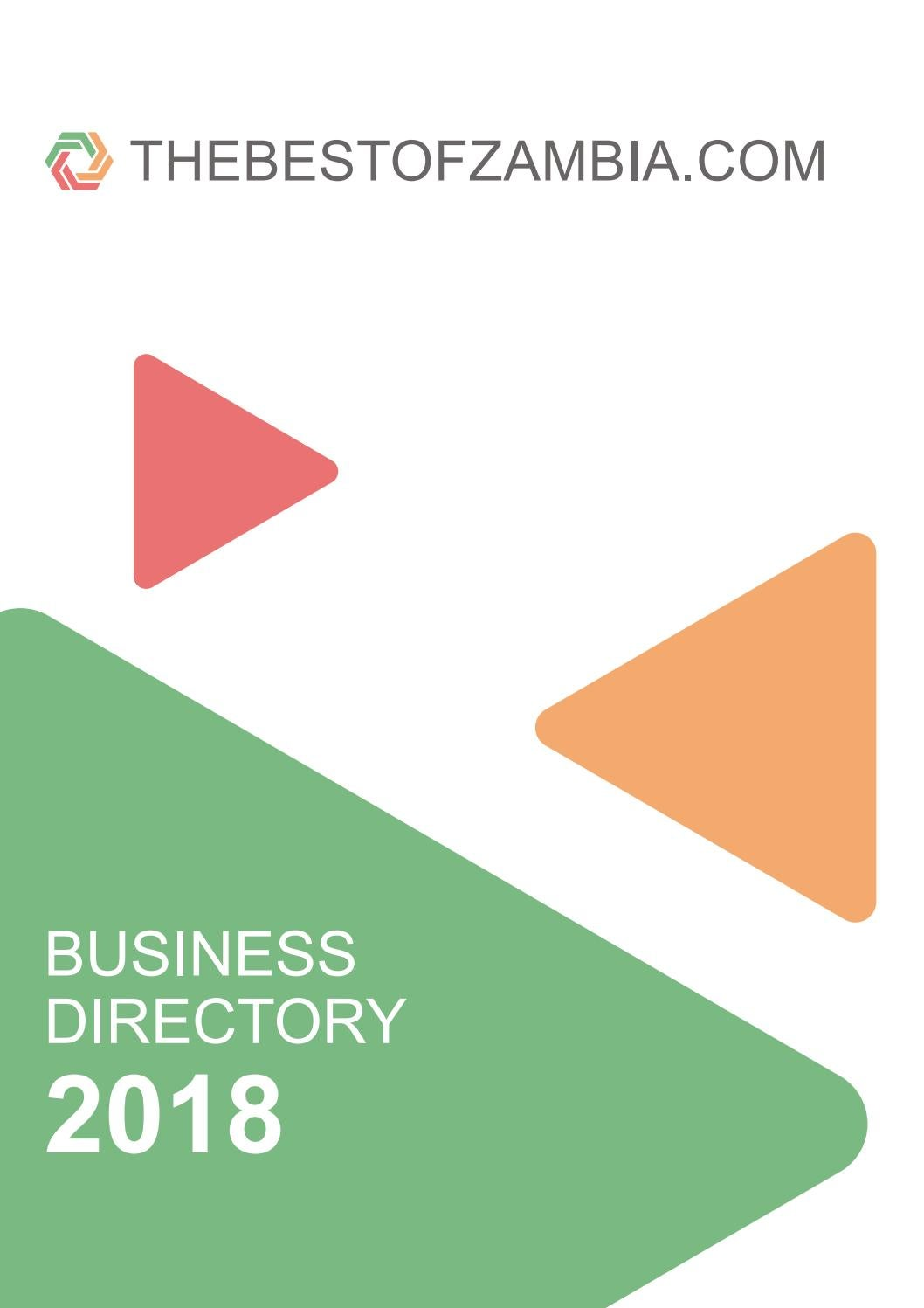 thebestofzambia.com business directory 2018 by Infobwana - issuu
