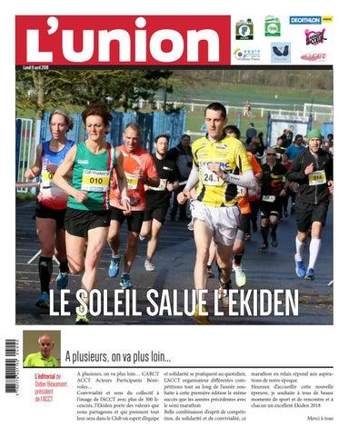 20180409 uni ekiden semi marathon chateau thierry by VDN   issuu