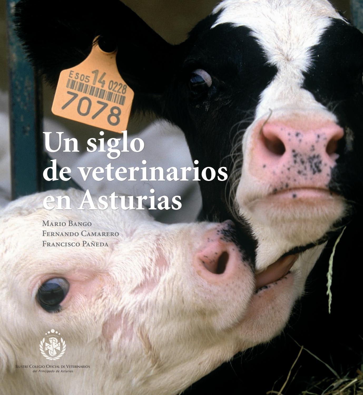 Un siglo de veterinarios de asturias by Colegio de Veterinarios del ...