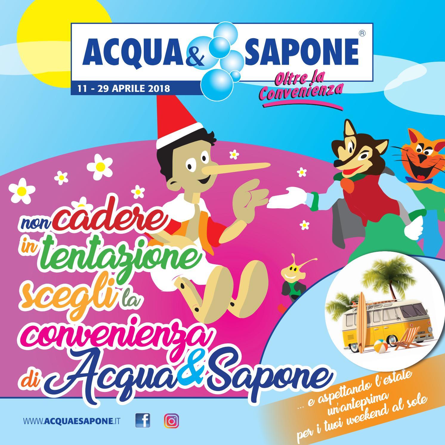 Volantino acqua sapone n 6 2018 by acqua sapone toscana for Volantino acqua e sapone toscana