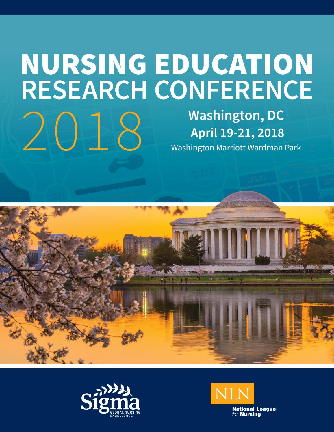 Nursing Education Research Conference 2018 by Sigma Theta