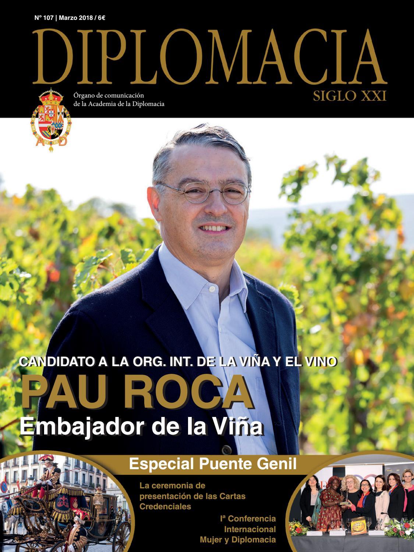 540f410b3b0 Diplomacia Nº 107 by Director  Santiago Velo de Antelo - issuu