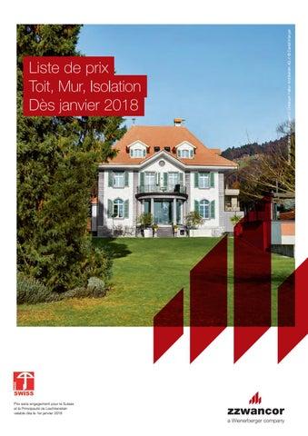 Liste de prix 2018 - Toit, Mur, Isolation (.pdf) by Wienerberger AG ... b6f12d7fbe16