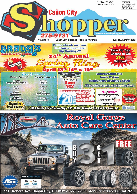 Caon City Shopper 04 10 18 By Prairie Mountain Media Issuu Bottle Thrill750mlclr Blkdual Line