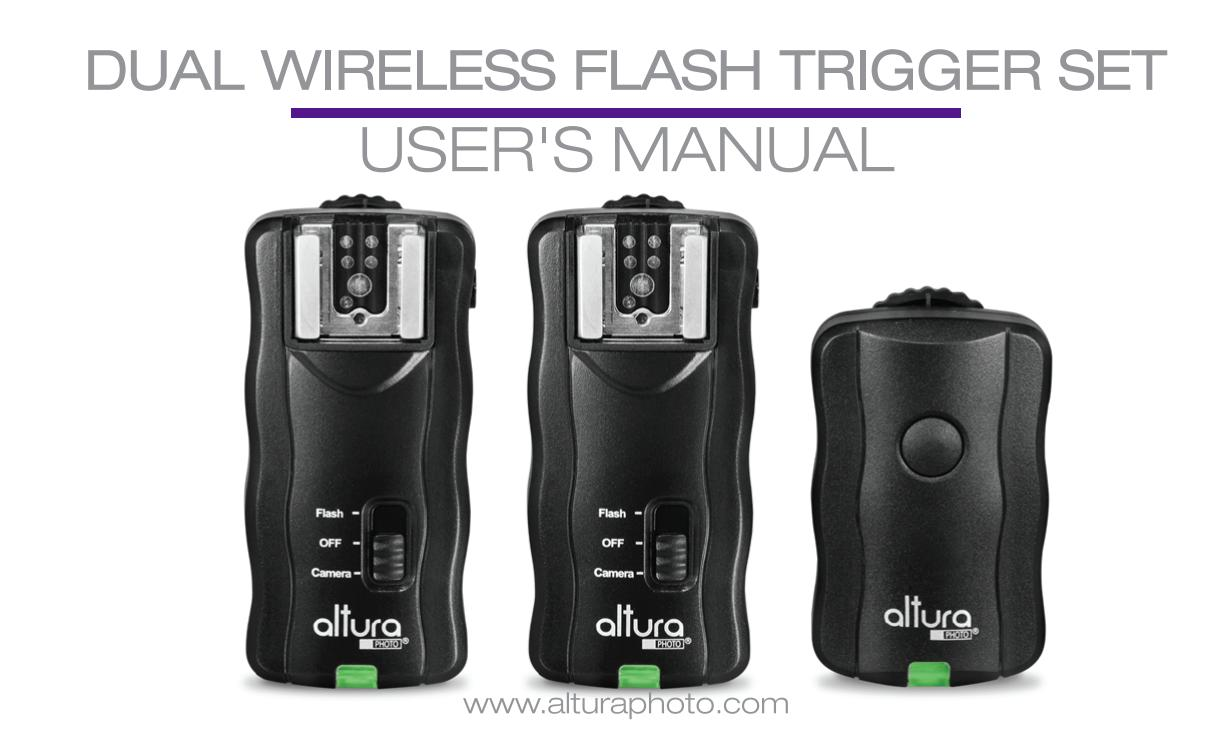 Altura Photo 2 Trigger Pack Wireless Flash Trigger By Mikephoto Issuu
