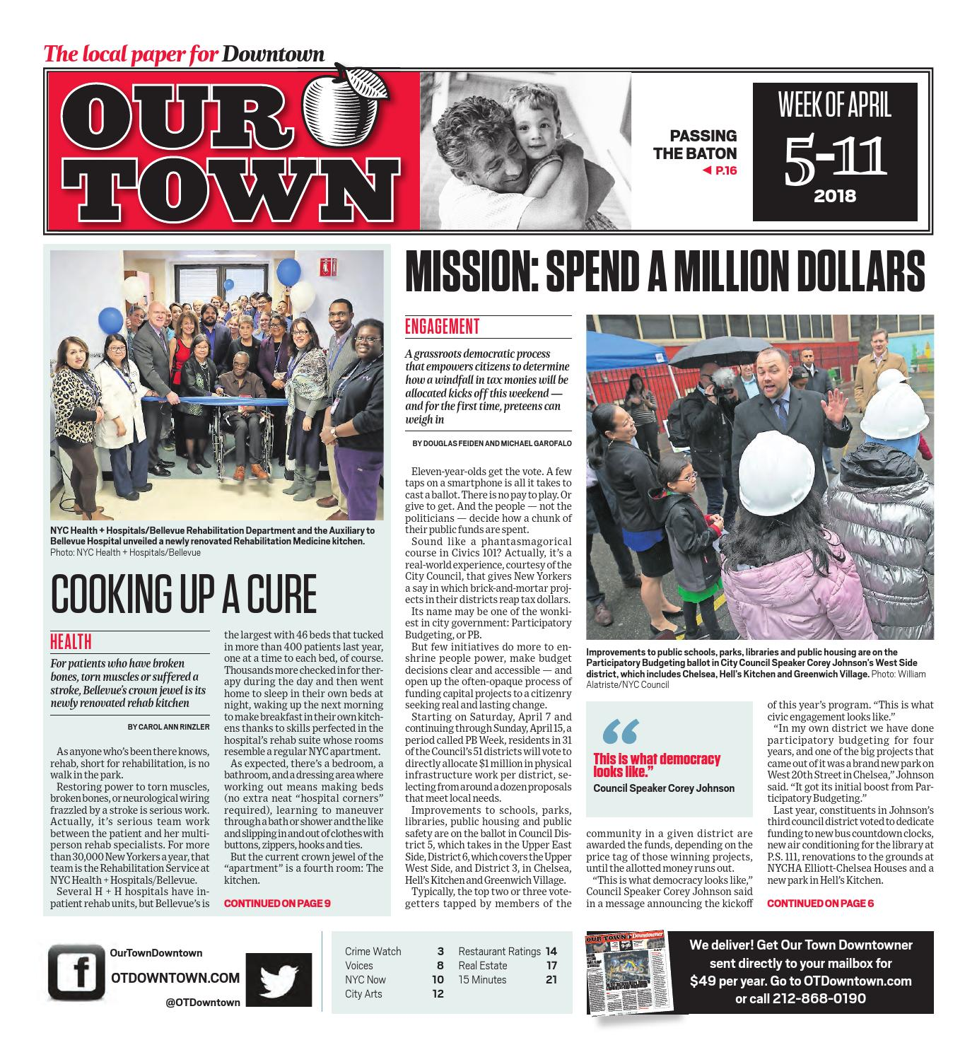Our Town Downtown - April 5, 2018 by OurTown Downtown - issuu