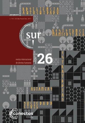 3b32e20a5d725 Sur 26 Português by Conectas Direitos Humanos - issuu