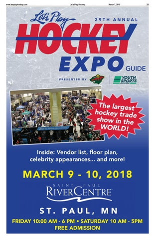 2018 Let s Play Hockey Expo Guide by Let s Play Hockey - issuu b0bbe6c08
