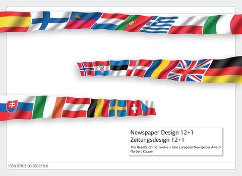 Trends Newspaper Design 121 By Norbert Kuepper Issuu