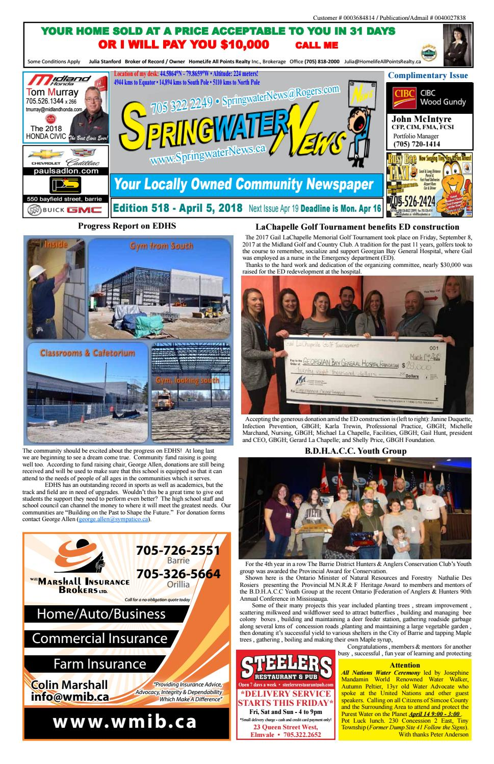 April 5 2018 ed 518 for web by Springwater News - issuu