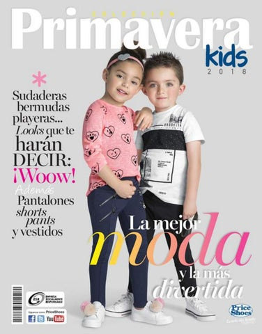 Price Shoes Primavera Kids 2018 By Price Shoes Oficial Issuu