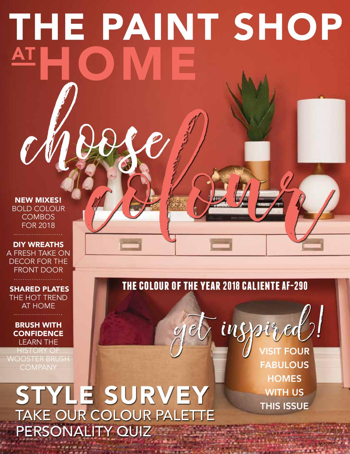 the paint shop at home spring 2018 by at home magazine issuu