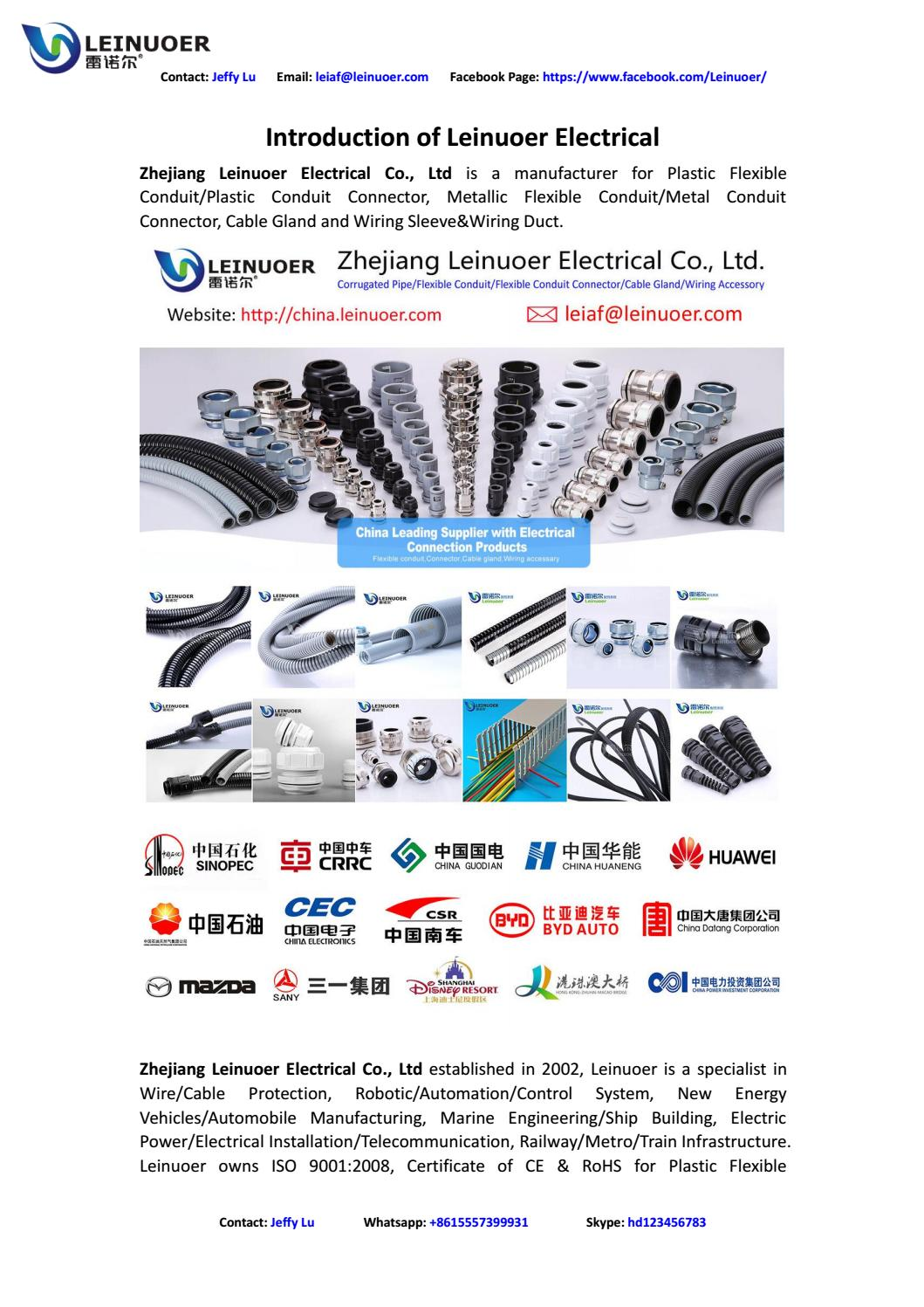 Leinuoer Electrical Profile Cable Protection System By Jeffy Lu Issuu Plastic Flexible Wire Conduit Buy