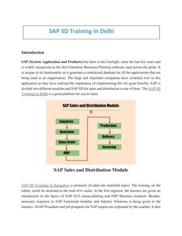 SAP SD t