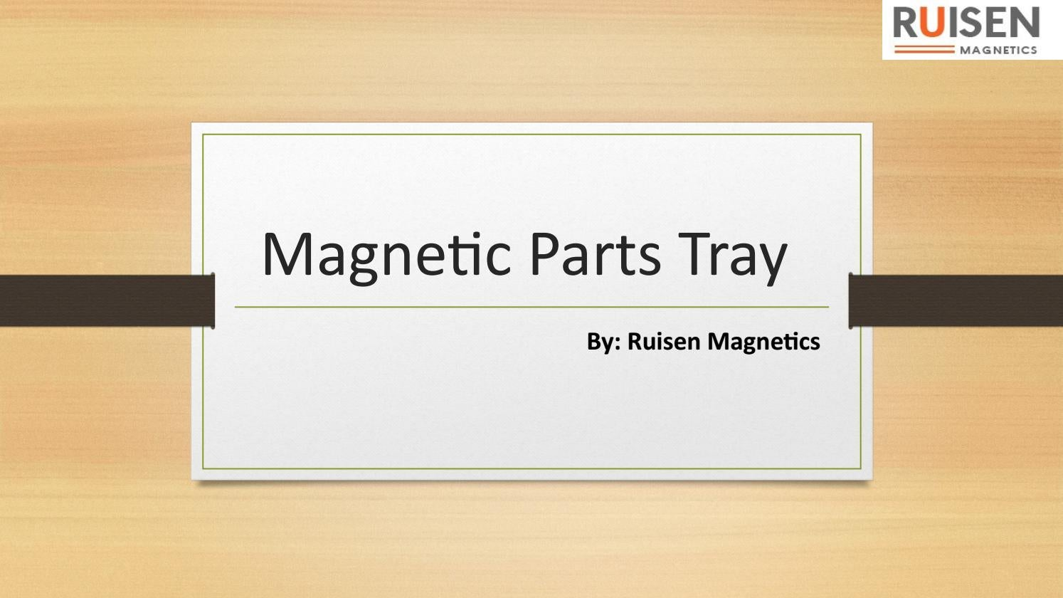 Get Affordable Magnetic Parts Tray
