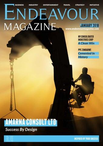Endeavour Magazine January 2018 by Littlegate Publishing - issuu
