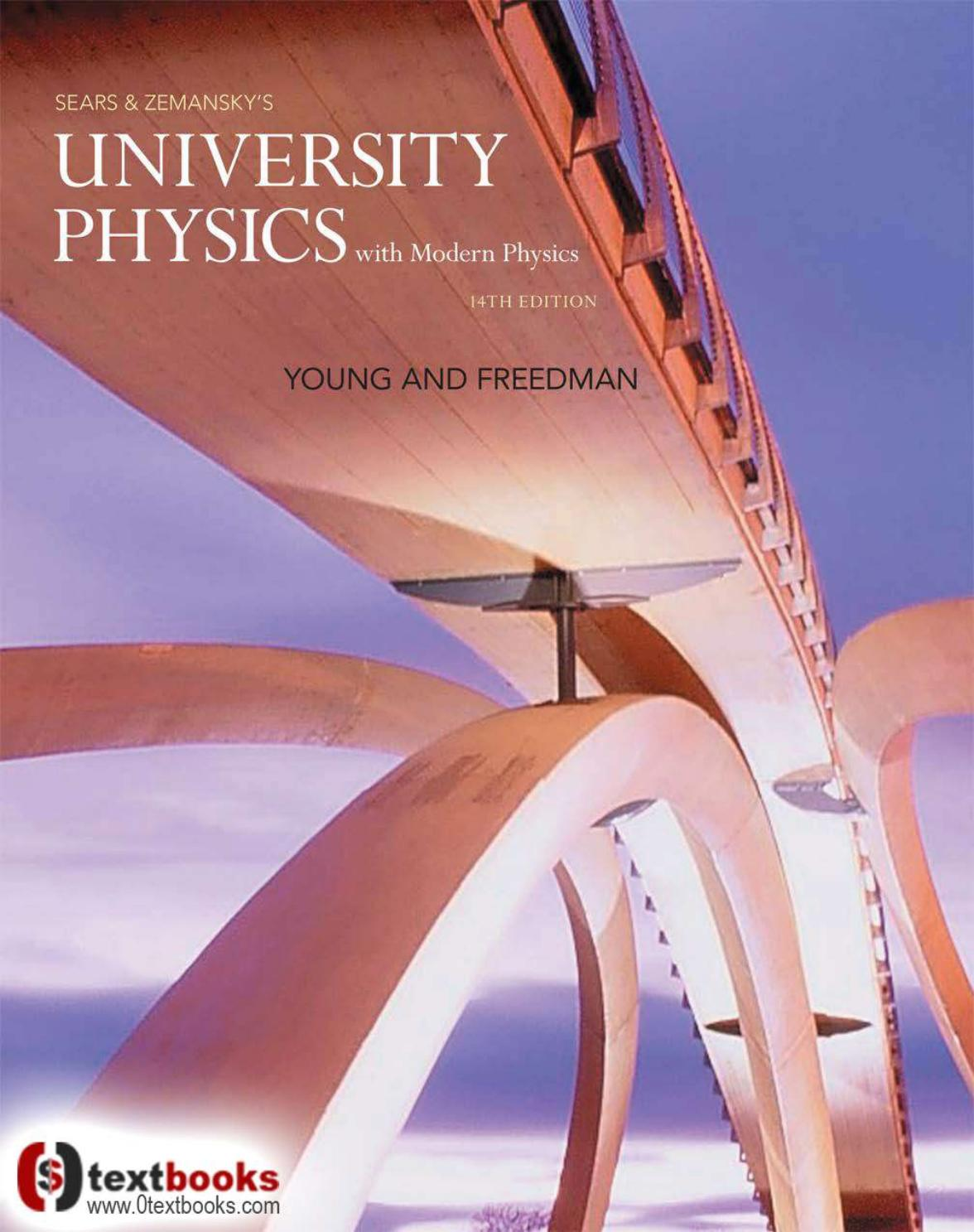University Physics With Modern Physics 14th Edition Pdf By