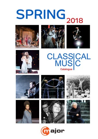 Classical Catalogue Spring 2018 By C Major Entertainment Issuu