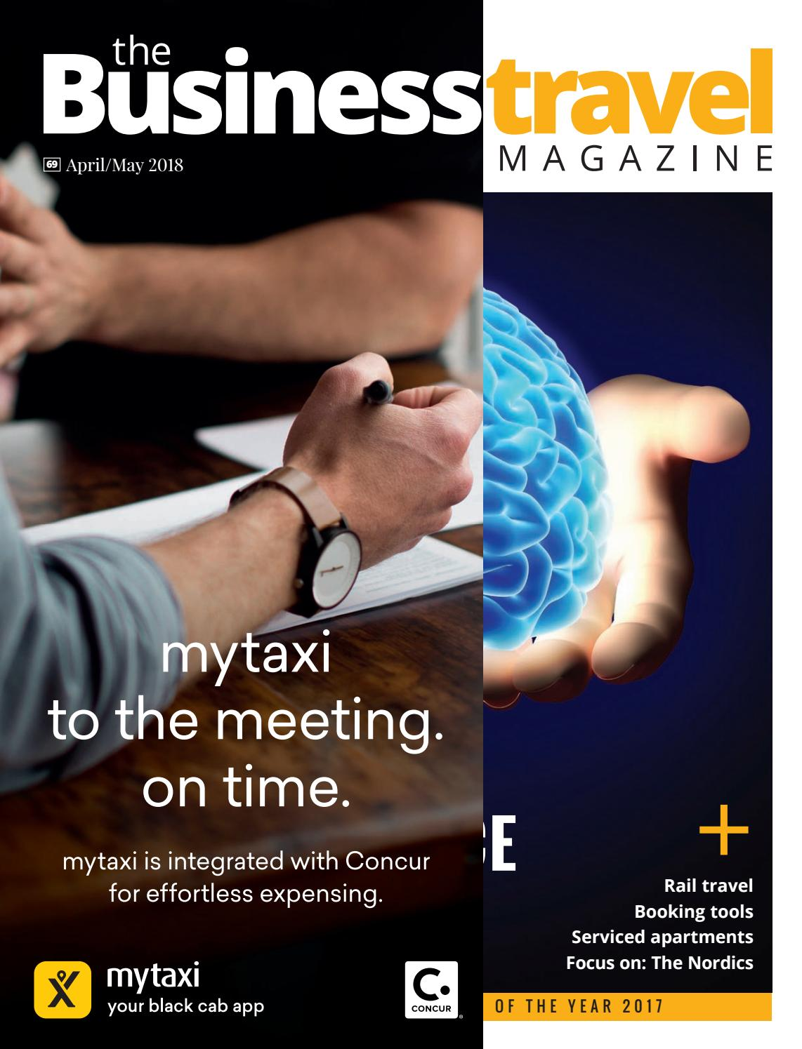 The Business Travel Magazine April May 2018 By BMI Publishing Ltd