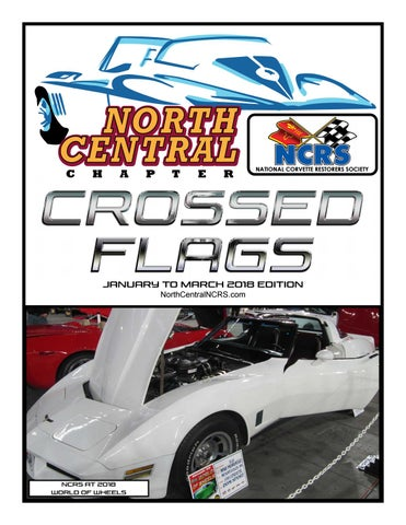 North Central NCRS Newsletter JanMar By Zora ArkusDuntov - Paragon casino car show 2018