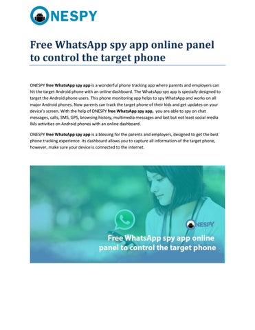Free whatsapp spy app by Krishna Yadav - issuu