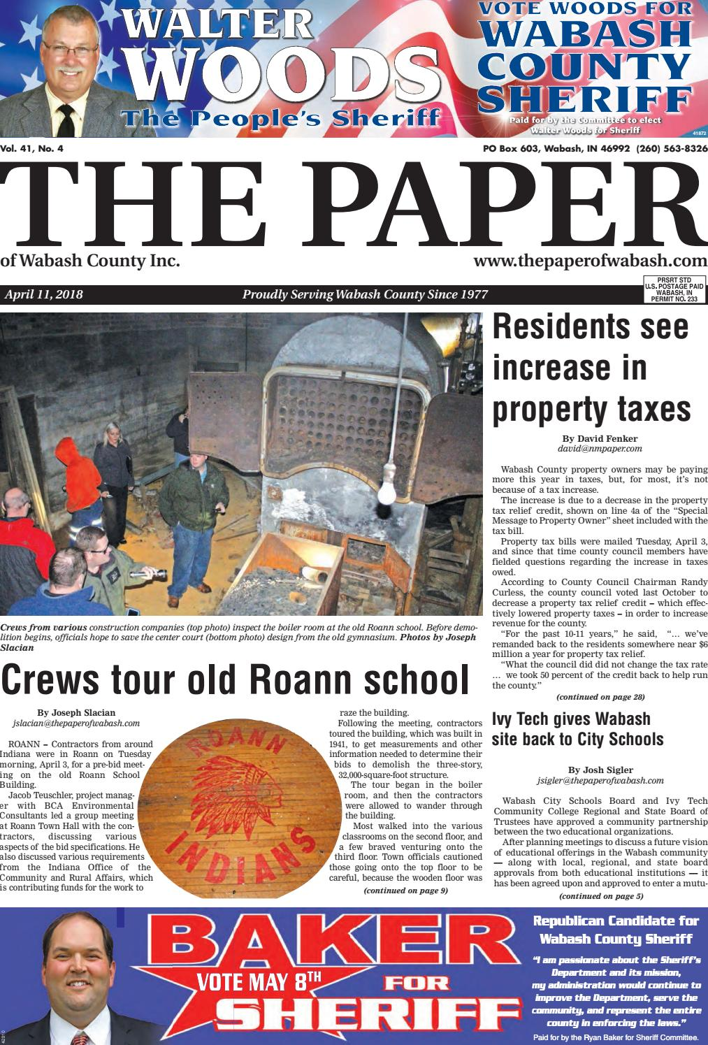 The Paper Of Wabash County April 11 Issue By Issuu