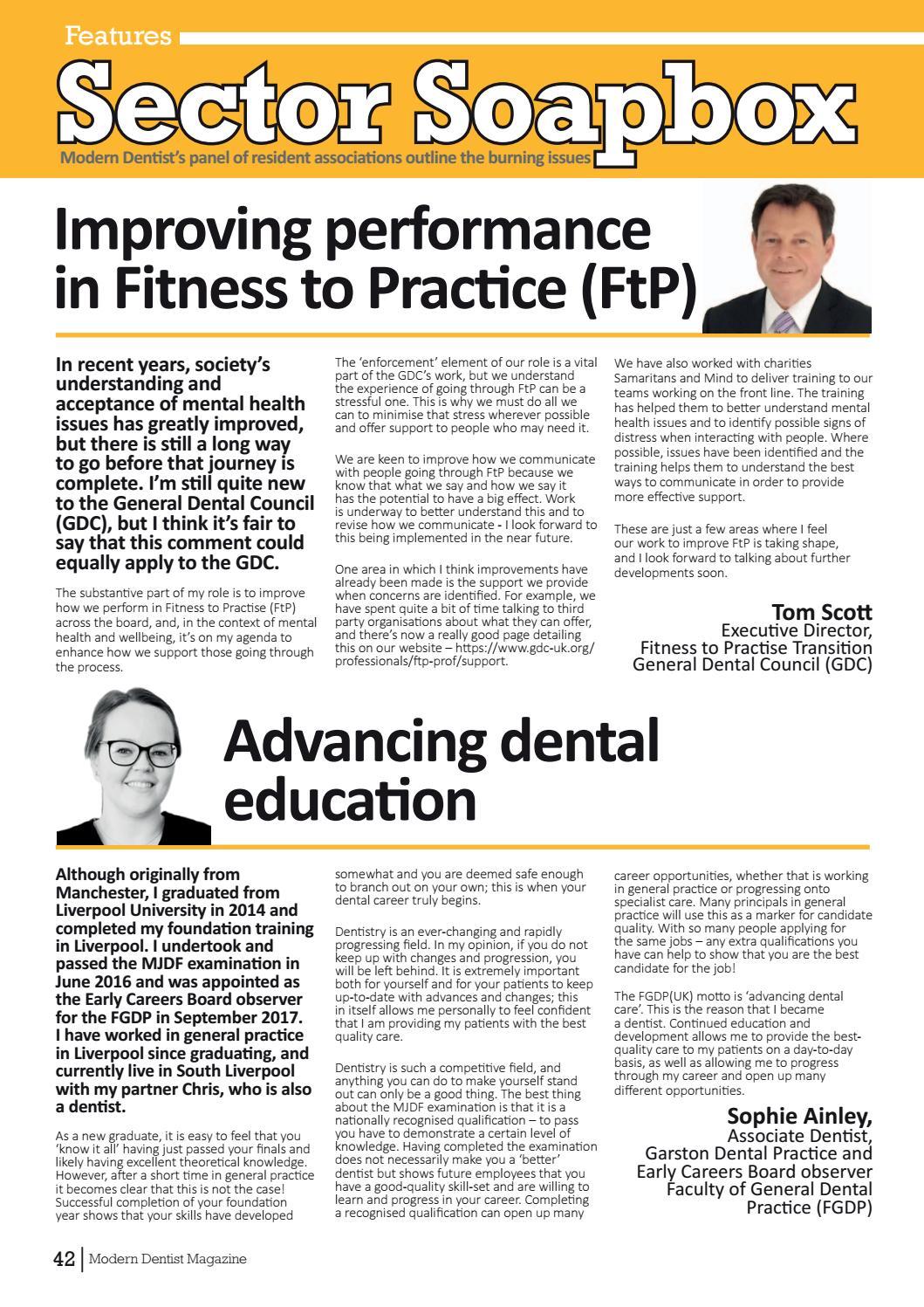 Modern Dentist Magazine Issue 2 by Charlton Grant - issuu