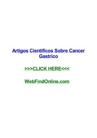 signos y sintomas de adenocarcinoma gastrico