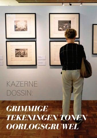 Page 22 of Kazerne Dossin: Grimmige tekeningen tonen oorlogsgruwel