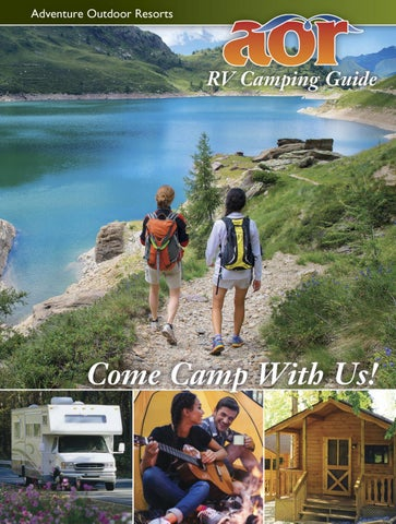 AOR Camping Guide 2018 By Adventure Outdoor Resorts