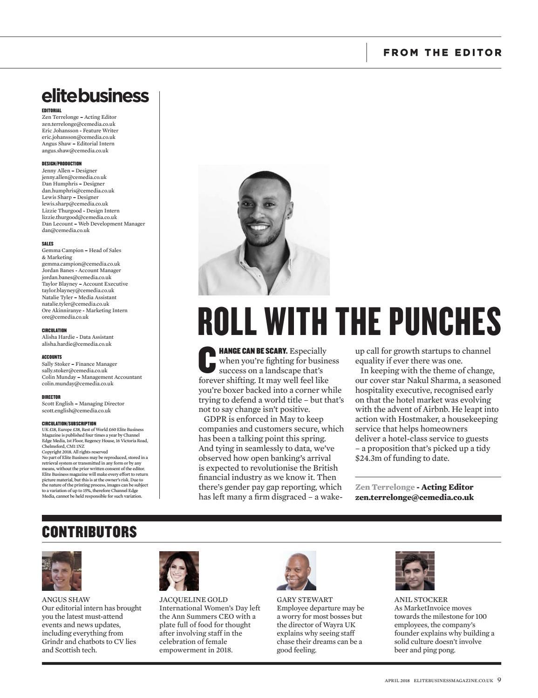 Elite Business April 2018 by Elite Business Magazine - issuu