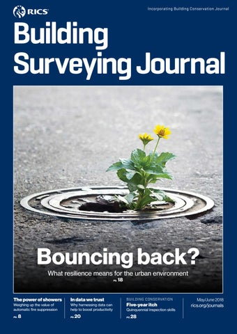 Building Surveying Journal: May–June 2018