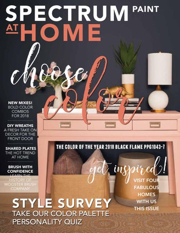 Spectrum Paint At Home Spring 2018 Ppg By At Home Magazine Issuu
