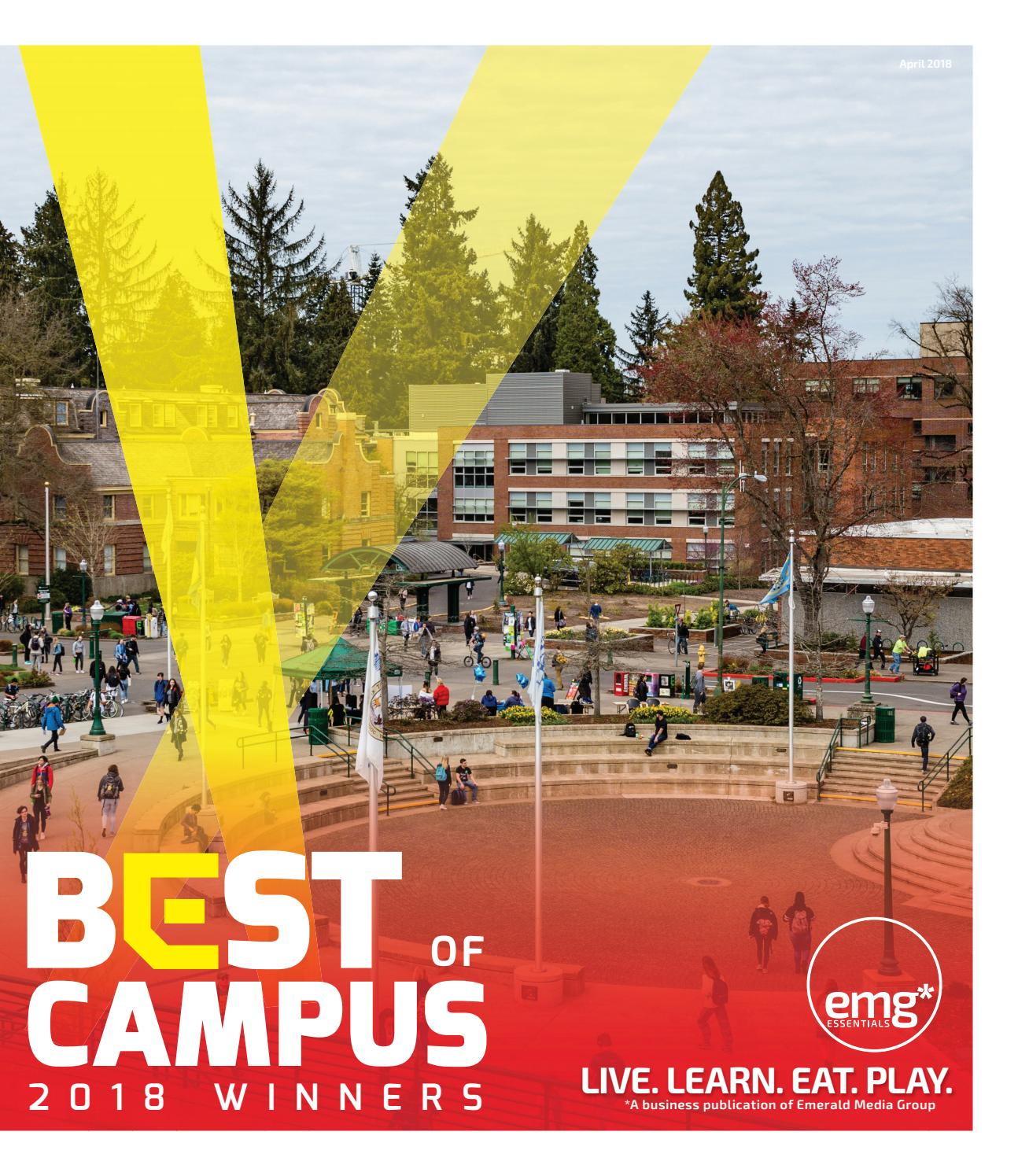 Best of Campus - Results Guide 2018 by Emerald Media Group