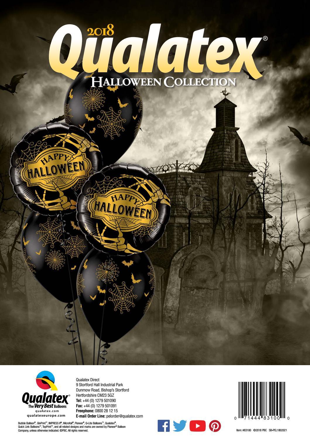 2018 pel halloween and christmas collectionpioneer balloon