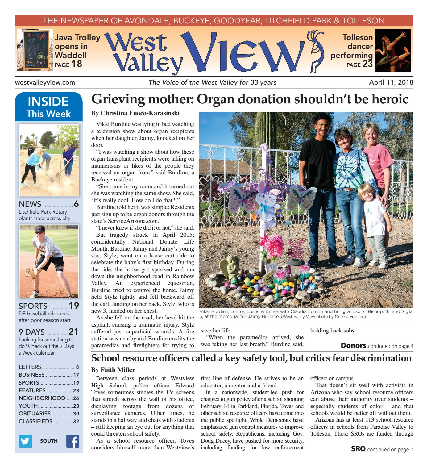 West Valley View South April 11 2018 by Times Media Group issuu