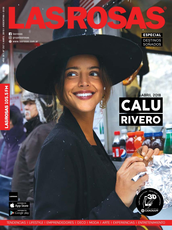Calu Rivero - Edición 257 by Revista Las Rosas - issuu 969ee75d466