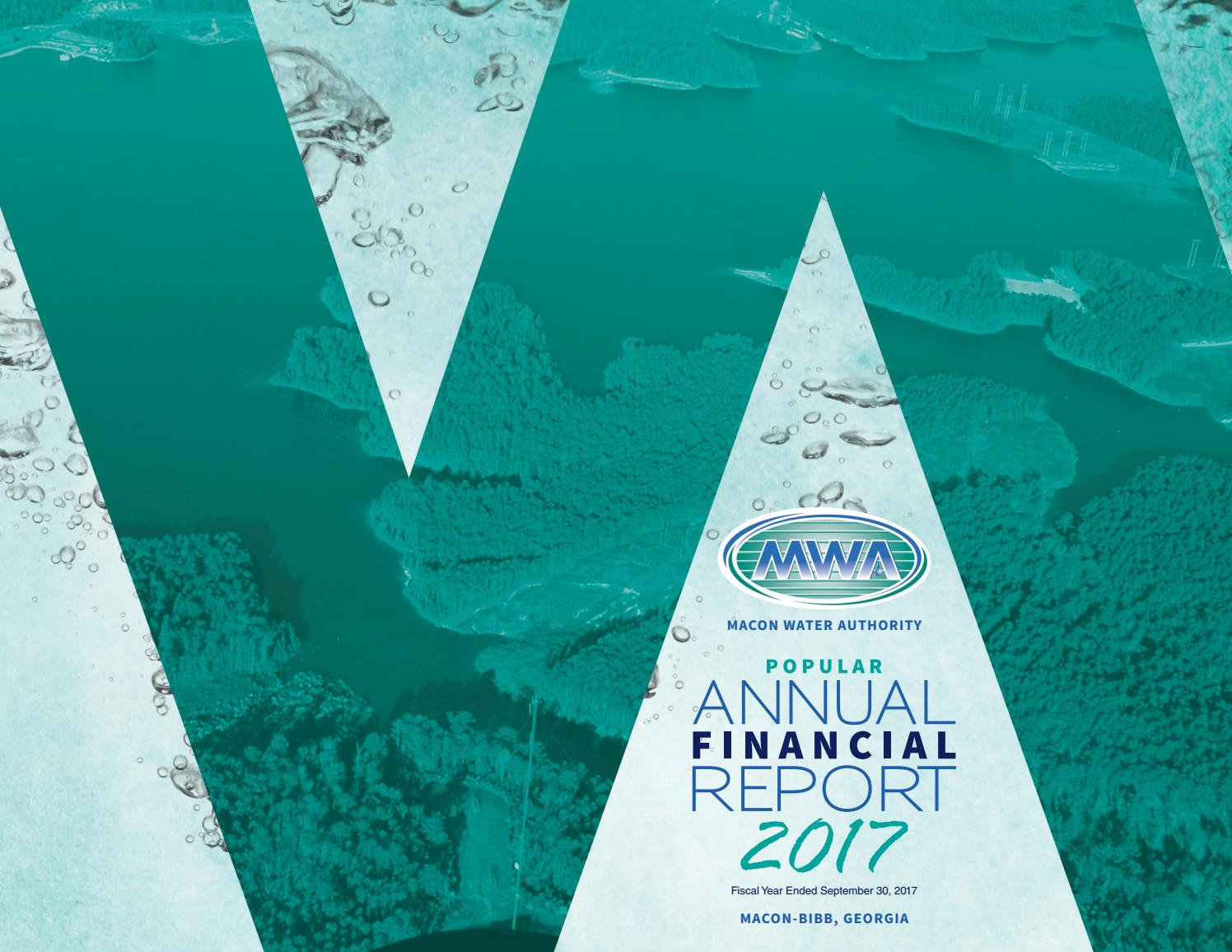 Macon Water Authority 2017 Popular Annual Financial Report V3 By