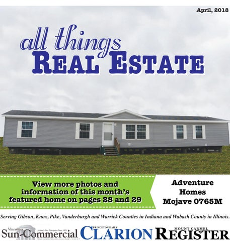 April All Things Real Estate by Princeton Daily Clarion, Mt. Carmel on