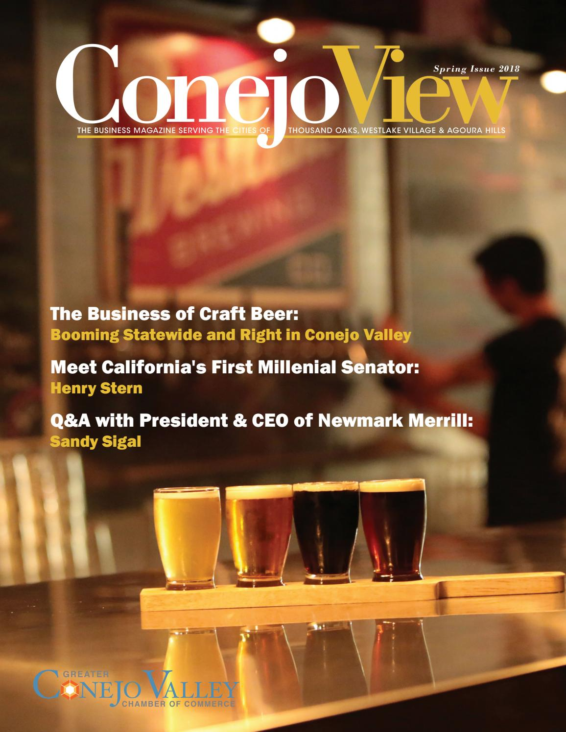 ConejoView Spring 2018 by ConejoView - Greater Conejo Valley Chamber of  Commerce - issuu